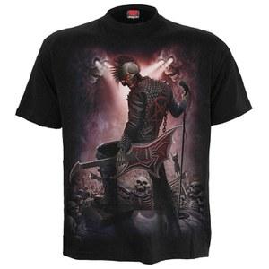 Spiral Men's STAGE FRIGHT T-Shirt - Black