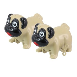 Wind-Up Racing Pugs