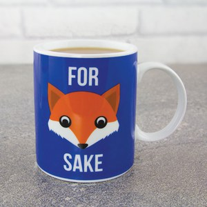 Tasse Renard Humoristique For Fox Sake