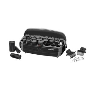 BaByliss Thermo-Ceramic Hair Rollers - Black (UK Stikkontakt)