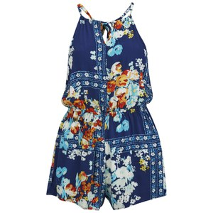 MINKPINK Women's Evening Bloom Playsuit - Multi