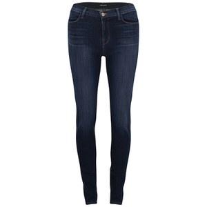 J Brand Women's Maria High Rise Skinny Leg Jeans - Oblivion