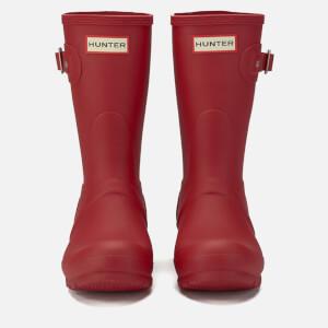 Hunter Women's Original Short Wellies - Military Red: Image 2