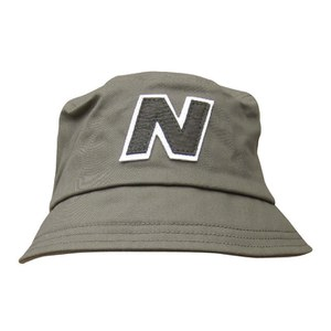 New Balance Men's Glasto Cotton Bucket Hat - Dark Green/White