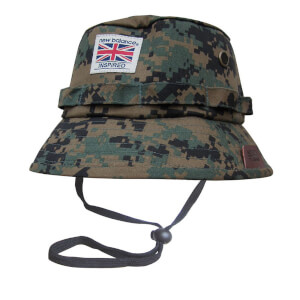New Balance Men's Explorer Bucket Hat - Grey/Digital Camo