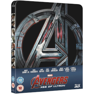 Avengers: Ages of Ultron 3D (Includes 2D Version) - Zavvi UK Exclusive Limited Edition Steelbook
