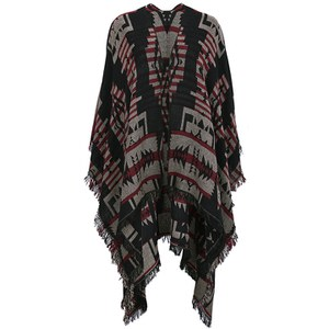 BeckSöndergaard Women's T-Ethnic Cape - Black