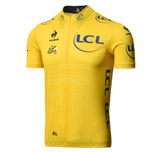 Le Coq Sportif Tour de France 2015 Leaders Official Premium Jersey - Yellow