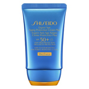Protetor Solar Wet Force Expert Sun Aging Plus FPS50+ da Shiseido (50 ml)