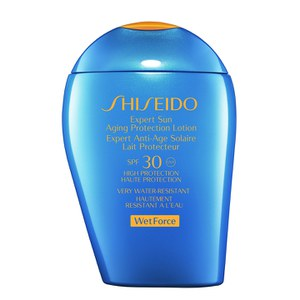 Shiseido Wet Force Expert Sun Aging Protection Lotion SPF30 (100 ml)