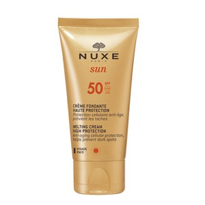Crema facial con FPS50 NUXE Sun High Protection Fondant (50ml)