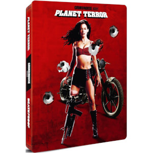 Grindhouse - Planet Terror and Deathproof - Zavvi UK Exclusive Limited Edition Steelbook