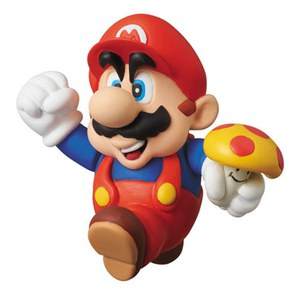 Nintendo Series 1 Super Mario Bros. Mario with Mushroom Mini Figure