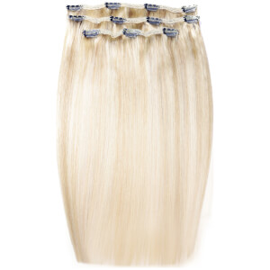 Extensiones de cabello Deluxe Clip-In de 45,7 cm de Beauty Works - Rubio LA 613/24
