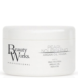 Masque à l'huile d'argan nourrissant Pearl Nourishing de Beauty Works