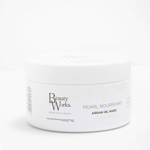 Beauty Works Pearl Nourishing Argan Oil Mask -ravitseva arganöljynaamio hiuksille