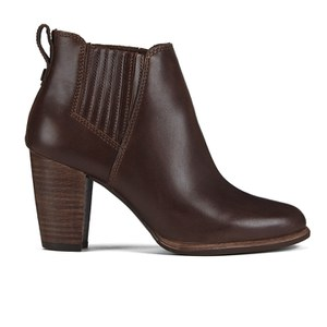 UGG Women's Poppy Heeled Ankle Boots - Pinecone