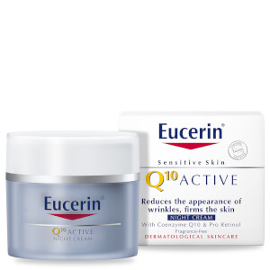 Eucerin® Sensitive Skin Q10 Active Anti-Wrinkle Night Cream (50ml)