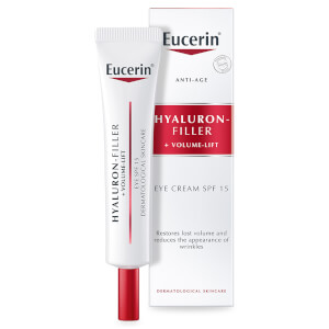 유세린 안티에이지 볼륨 필러 아이크림 SPF15 UVB + UVA 프로텍션 (EUCERIN® ANTI-AGE VOLUME-FILLER EYE CREAM SPF15 UVB + UVA PROTECTION) (15ML)