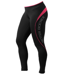 Better Bodies Fitness Long Tights - Hot Pink