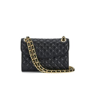 Rebecca Minkoff Women's Quilted Mini Affair Shoulder Bag - Black