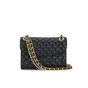 Rebecca Minkoff Women's Quilted Mini Affair Shoulder Bag - Black