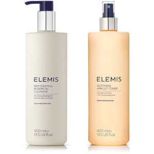 Elemis Supersize Soothing Cleanser and Toner Duo (Worth £88.00)
