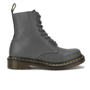 Dr. Martens Women's Core Pascal 8-Eye Virginia Leather Boots - Lead
