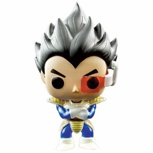 Dragonball Z Metallic Vegeta EXC Funko Pop! Vinyl