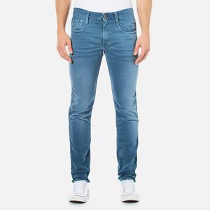REPLAY Men's Anbass Slim Fit Denim Jeans - Light Blue