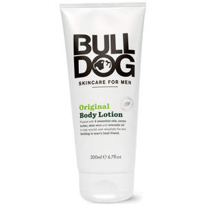 Loção para o Corpo Original Skincare For Men da Bulldog (200 ml)