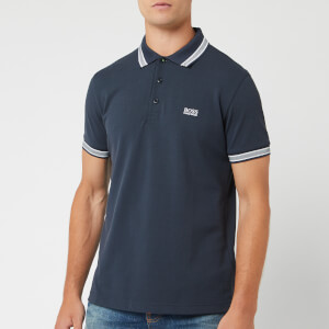 BOSS Men's Paddy Tipped Polo Shirt - Navy