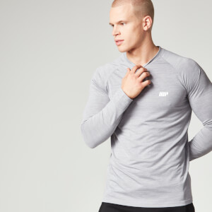 Myprotein långärmad Performance T-shirt - Grey Marl