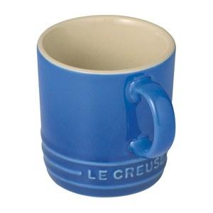 Le Creuset Stoneware Espresso Mug, 100ml - Marseille Blue