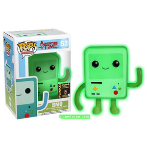 Adventure Time BMO Glow In The Dark Pop! Vinyl Figure