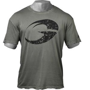 GASP Logo Vintage T-Shirt - Wash Black