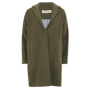 Custommade Women's Yu Coat - Desert Palm Green