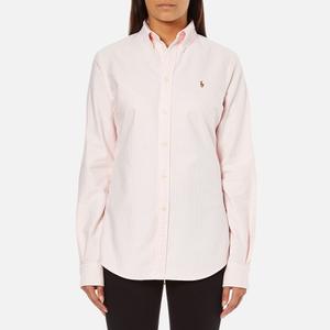 Polo Ralph Lauren Women's Harper Shirt - Pink/White