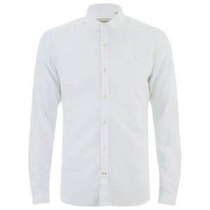 Oliver Spencer Men's Eton Collar Long Sleeve Shirt - Astley White