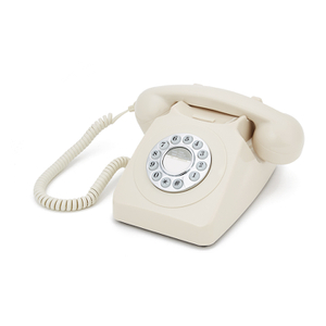 GPO Retro 746 Push Button Telephone - Ivory