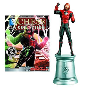 DC Comics Guy Gardner White Bishop Chess Piece with Collector Magazine
