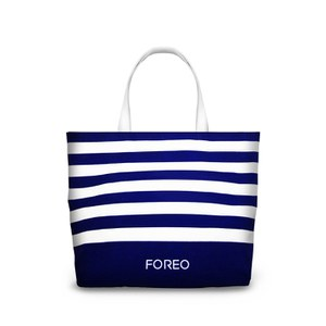 FOREO Canvas Beach Tote Bag