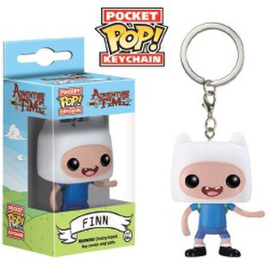 Adventure Time Finn Pocket Pop! Vinyl Key Chain