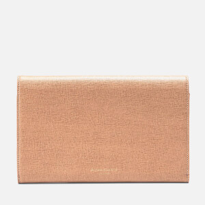 Aspinal of London Travel Wallet - Classic - Deer Brown: Image 5