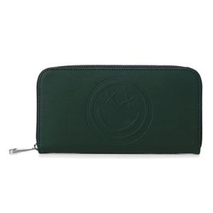 Aspinal x Être Cécile Continential Wallet - Forest Green