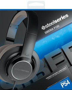 SteelSeries Siberia P100 Headset (PS4)