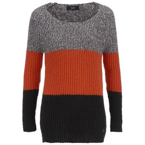 nümph Womens Stripe Knit Jumper - Tigerlily