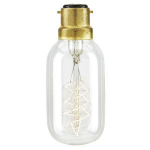 Nkuku Dome Bayonet Filament Light Bulb - 10.5 x 4cm