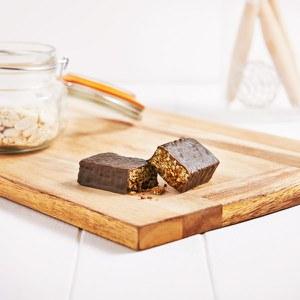 Barrita Crujiente de Chocolate y Caramelo (7 unidades)