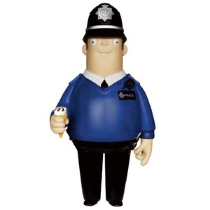 Hot Fuzz Danny Butterman Vinyl Sugar Idolz Action Figure